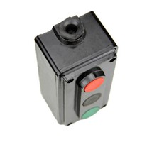 Industrial control switch LA4-3H three position control button switch box start stop button