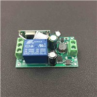 433Mhz Universal AC 85V ~ 250V 110V 220V Relay 1CH Wireless Remote Control Switch Receiver Module and RF 433 Mhz Remote Controls