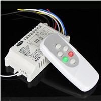 YTE AC200V-240V 50Hz/60Hz  4 Way 5 Sections Lamps Wireless Remote Control Switch for Crystal Lamp Pendant Light ceiling lamp
