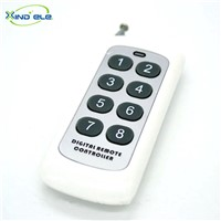 8-KEY RF 433mhz Universal Remote Control Remoto Switch Controller for Wireless Receiver Relay Module