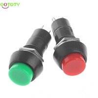 5Pcs/Set Mini DS-11A Self-Locking SPST Push Button Switch Latching AC 250V 3A  828 Promotion