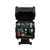 New AC220V 1CH 10A Remote Control Light Switch teleswitch Relay Output Radio Receiver Module and  cat's eye Transmitter