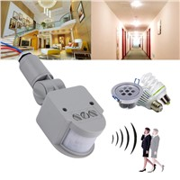 Motion Sensor Light Switch Outdoor AC 220V Automatic Infrared PIR Motion Sensor Switch for LED Light