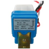 AC DC 12V 10A Automatic Lamp Twilight Switch Light Sensor Twilight Switch
