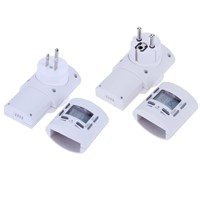 125/230V Plug Switch Socket New Arrival Plug-in Programmable Timer Switch Socket with Clock Summer Time