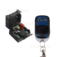 AC220V 1CH Remote Control Switch Lighting Switches Remote ON OFF Light Lamp SMD Power Remote Switch System 315/433.92MHZ
