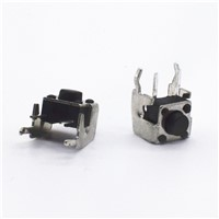 100pcs DIP 6*6*5mm Tactile Tact Push Button Micro Switch Momentary Vertical Push 6x6x5mm
