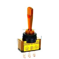 Automotive Toggle Switch 3 Pin ON-OFF with lamp DC 12V 20A