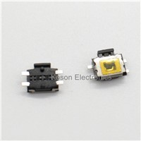 100pcs Micro Switch smd 4pin New Switch Button Key for Mobile Phone