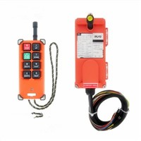 DC 24V Industrial Wireless Radio remote controller Switch for crane 1 receiver+ 1 transmitter