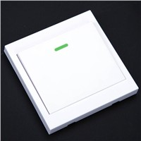 White 5 to 10m Wireless Remote Control Switch 86 Wall Panel Transmitter 1 2 3 Button RF Remote