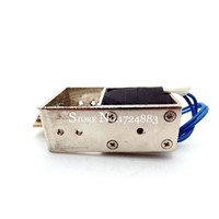JF-S1670DL electric lock dc 12V 24V automatic lock linear solenoid electromagnetic stroke 10mm for door lock of Safe box