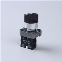 XB2-BD21 Two Position Maintained Selector Rotary Self-locking Push Button Switch 10A 1NO 22mm