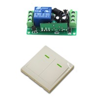 9V/12V/24V Electric Wireless Remote Controller Remote Control Switch Receiver & Wall Transmitter garage door / window / Lamp
