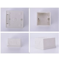 86/118 Cassette Universal White Wall Mounting Box For Wall Switch And Plastic Enclosure Socket Back Box Outlet
