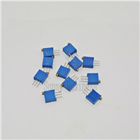 10Pcs/Lot 3296W Multiturn Trimmer Potentiometer Kit High Precision 3296 Variable Resistor switch