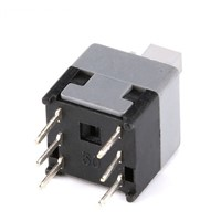 H015-16 Square Button Tactile Push Button Switch 6 pin 8.5x8.5mm Non locking / Self-resseting / Momentary Tact DIP Type Switches