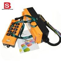 12-24VDC 10 Channels One Speed industrial wireless Truck Hoist Crane Winch Radio Remote Control System Controller