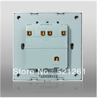 wall switch touch light switch access control the switches AC 110-250V  10a  4 gang 1way