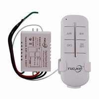 1 Channel Way ON/OFF Digital Wireless Light 110V Garage Wall New Switch Splitter Box Remote Control