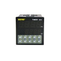 Sestos Digital Quartic Timer Relay Switch 100-240V Omron Relay Ce Ac100-240V B3S