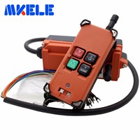 Hot Sale Universal Wireless Radio Industrial Remote Control Distance For Overhead Crane AC/DC
