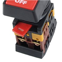 Promotion! ON OFF START STOP Push Button w Light Indicator Momentary Switch Red Green Power