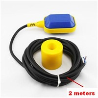 2M Wire Water Level Controller Float Switch Liquid Level Switch Sensor M15-2