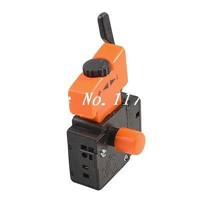 Electric Drill 5E4 Lock On Speed Control Trigger Switch AC 250V 4A
