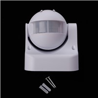 Outdoor IP44 Security PIR Infrared Motion Sensor Detector Movement Switch  110-240V 180 L25