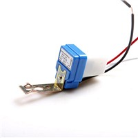 Mini Twilight Dusk Sensor Twilight Switch Outdoor Night Light Sensor Switch 12V 10A LED Sensor Switch for LED Lamp
