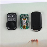 QIACHIP 433mhz DC 12V 4 CH Button RF Remote Control For Electric Car Garage Gate Door Key Light Switch Transmitter With Battery