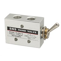 HL2501-V Carbon Steel Pneumatic Toggle Knob Switch Valve