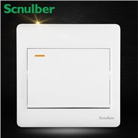 white light bronze single 1 gang dual 2 way surface mounted new design wall switch