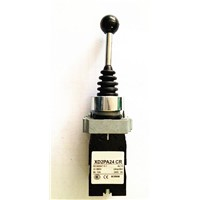22MM 4 Position 4NO Spring Return Momentary 10A 250V XD2PA24CR Joystick Switch For Boat Conveyor X24