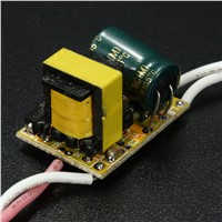 3X1W LED Power Driver Light Lamp Power Supply AC 85-265V 300mA Constant Current Modules Modules Useful Tool Tools