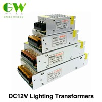 Lighting Transformers DC12V High Quality LED Lights Driver for LED Strip Power Supply 60W 100W 200W 300W.