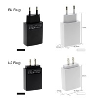 DC 5V 2A USB Power Adapter EU Plug / US Plug Universal Charger