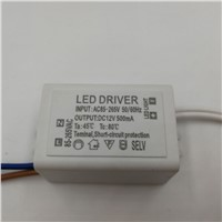 1pcs DC12V Power Supply Led Driver 6W Adapter