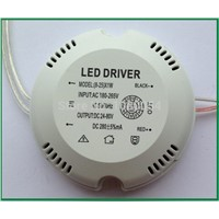 Factory outlets External Ceiling Light LED Power Driver Supply Transformer IC 8-24W Constant LED Driver DC24 -80V Ouput 260mA