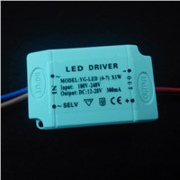 Quality isolated power supply (4-7)x1W AC 100-240V led driver DC 12-18V 300mA constant current transformer