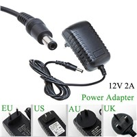 100-240V to DC 12V 2A/3A  Switch Switching Power Supply Converter Adapter EU US UK AU Plug