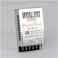 Super mini size ac to dc 5v 5a converter / Constant Voltage Switching Power Supply 25w 12v 2a /24v 1a/ 5 volt 5 amp smps circuit