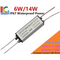Factory Wholesale 300mA 600mA 900mA Led Driver Solar-compat 12V 24V Adapter 3W 6W 9W 12W 15W 18W 21W Power Supply Transformer