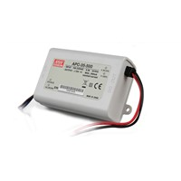 Mean Well APC-35-500 35W 25-70V 500mA  LED Waterproof Driver, Single Output Switching Power Supply
