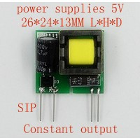 1pcs 2017 new Lighting Transformers 5V 3W small size Constant output power supply module quality goods