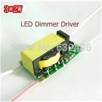 3*2W ,LED Dimmer Driver For LED Lamp Light Constant Current Driver Power Supply