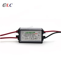 ( 1-3 ) X 1W 3W IP66 Waterproof LED Driver Power Supply Constant Current AC100 - 265V to DC 6V -12V 240mA -300mA for LED