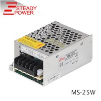 Steady CE approved power module 25w 12v 2a / 24v 1a transformer stabilized power supply