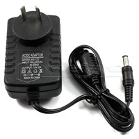 AC 110-240V 12V 2A convertor Power Charger Supply AC/DC Adapter For For RGB 5050 3528 SMD Led Strip Light  AU plug cord